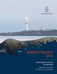 Norsk fyrliste 2016