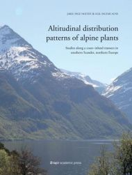 Altitudinal distribution patterns of alpine plants