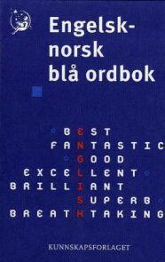 Engelsk-norsk blå ordbok