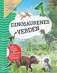 Dinosaurenes verden. Med klistremerker og plakat