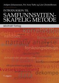 Introduksjon til samfunnsvitenskapelig metode