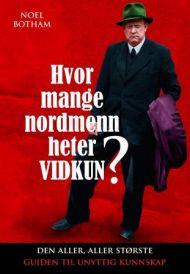 Hvor mange nordmenn heter Vidkun?