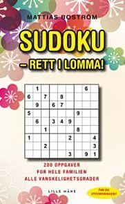 Sudoku - rett i lomma! 200 oppgaver for hele famil
