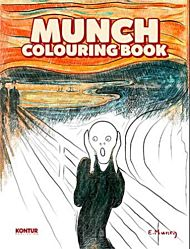 Munch colouring book