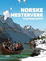 Norske mesterverk. Fargeleggingsbok #