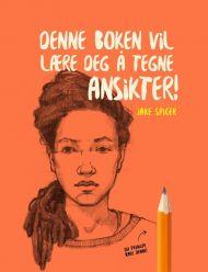 Denne boken vil lære deg å tegne ansikter! #