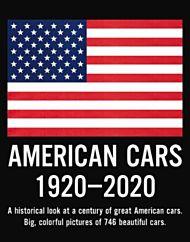 American cars 1920-2020