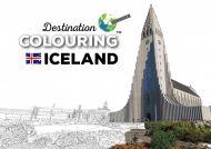 Destination colouring Iceland