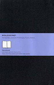 Moleskine Art Sketchbook Hard 13x21cm - Sort