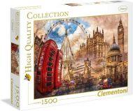 Puslespill 1500 London Clementoni