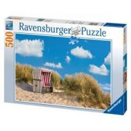 Puslespill 500 Lonely Beach  Ravensburger