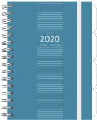 Ukeplanlegger Grieg Leo A5 Trend 2020 blå