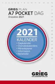 Årspakke 2021 Grieg Plan A7 Dag