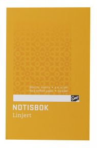 Notisbok EMO 9x14cm 60g 32blad linjer