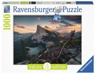 Puslespill 1000 Evening In The Rocky Ravensburger