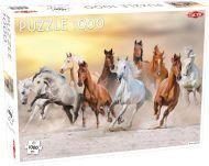 Puslespill 1000 Wild Horses Tactic