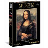 "Puslespill 500 Museum Leonardo ""Mona Lisa"" Clement"