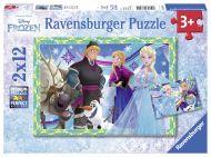 Puslespill 2X12 Frost Ravensburger