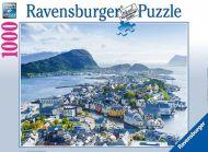 Puslespill 1000 Ålesund Ravensburger
