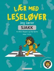 Jeg lærer sjakk. Lær med Leseløver. Med klistremerker!