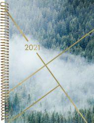 Kalender 2021 Multi A5 Uke Skog