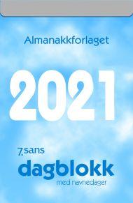 Veggkalender 2021 7.sans Dagblokk stor