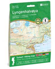 Lyngenhalvøya 1: 50 000