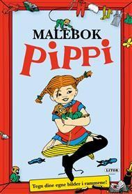 Malebok Pippi Langstrømpe