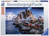 Puslespill 3000 Lofoten Norway Ravensburger