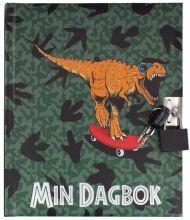 Dagbok M/Lås Dino Tinka Cool School 2020