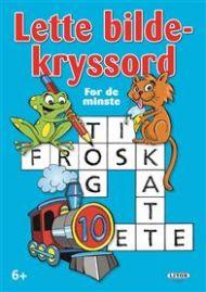 Kryssordbok Lette Bildekryssord For De Minste