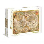 Puslespill 2000 Ancient Map Clementoni
