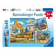 Puslespill 3X49 Store Maskiner Ravensburger