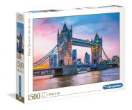 Puslespill 1500 Tower Bridge Clementoni