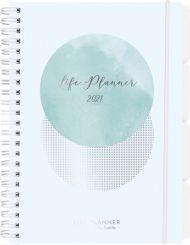 Kalender 2021 Life Planner A5 Uke Blue