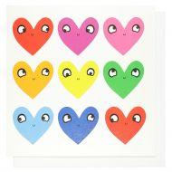 Systemkort PC Multi Coloured Love Hearts