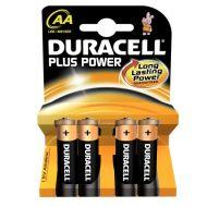 Batteri Duracell Plus Power Aa (4)