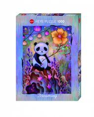 Puslespill 1000 Panda Naps Heye