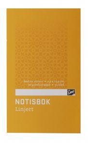 Notisbok Emo 7,5x12cm 60g 32blad linjer