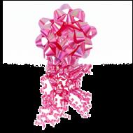 Rosett Pink Bow And Tassel