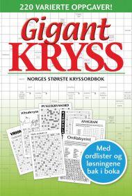 Gigantkryss 3. Norges største kryssordbok. 220 var