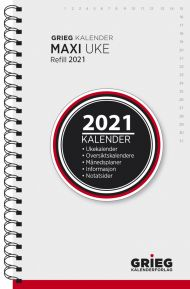 Kalender 2021 Maxi Uke Refill