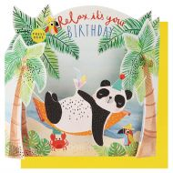 Lydkort PC Relax Its Your Birthday Panda