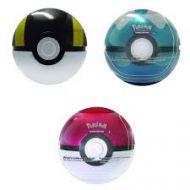 Pokemon PokeBall Sort og hvit