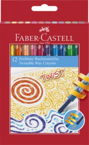 Fargestift Faber Skrublyanter 12 Pk
