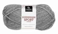 Garn Gjestal Superwash Sport 50g Grå