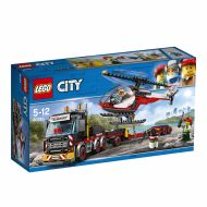 Lego Trailer Med Helikopter 60183