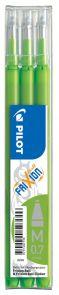 Refill Pilot Frixion 0,7 lime grønn (3)