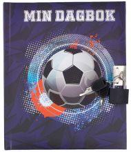 Dagbok M/Lås Fotball Tinka Cool School 2020