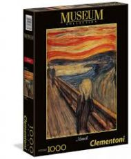 Puslespill 1000 Munch The Scream Clementoni